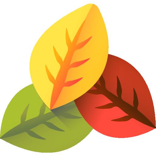 colorful leaf
